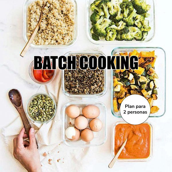 Batch Cooking/ 2 personas